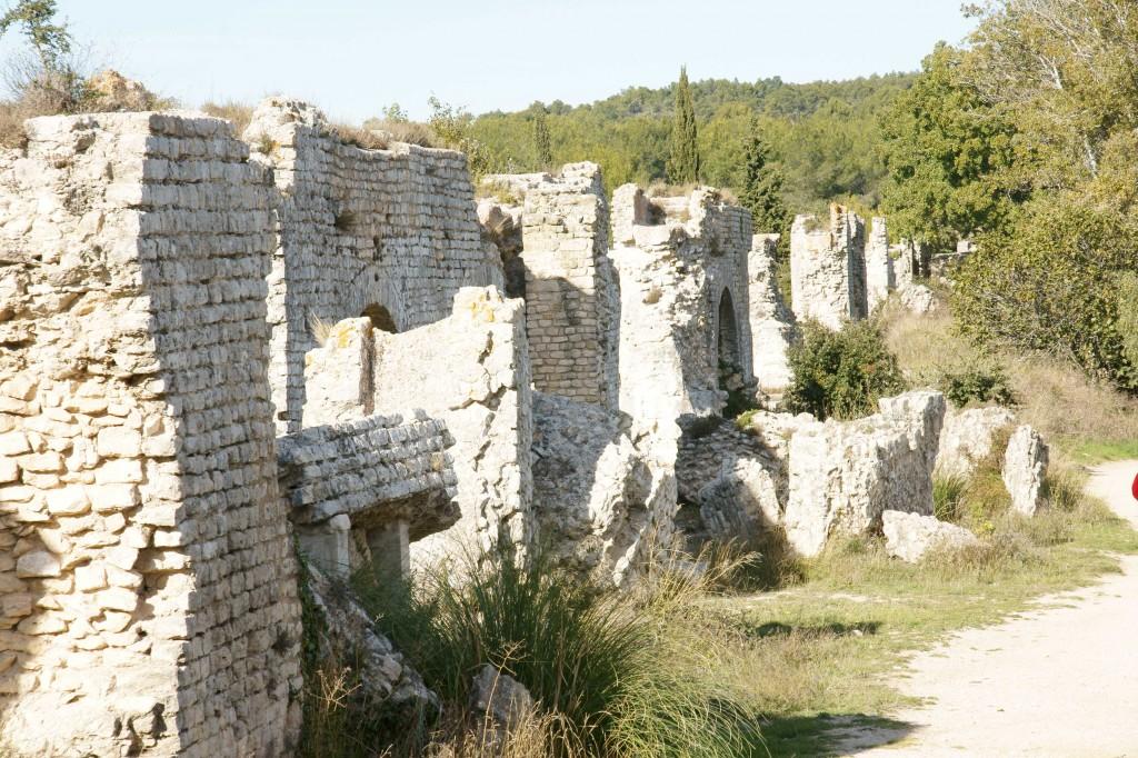 Aqueduct at Barbegal