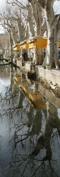 Un canal en hiver