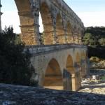 Winter light on the Pont du Gard