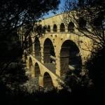 Pont du Gard, amont