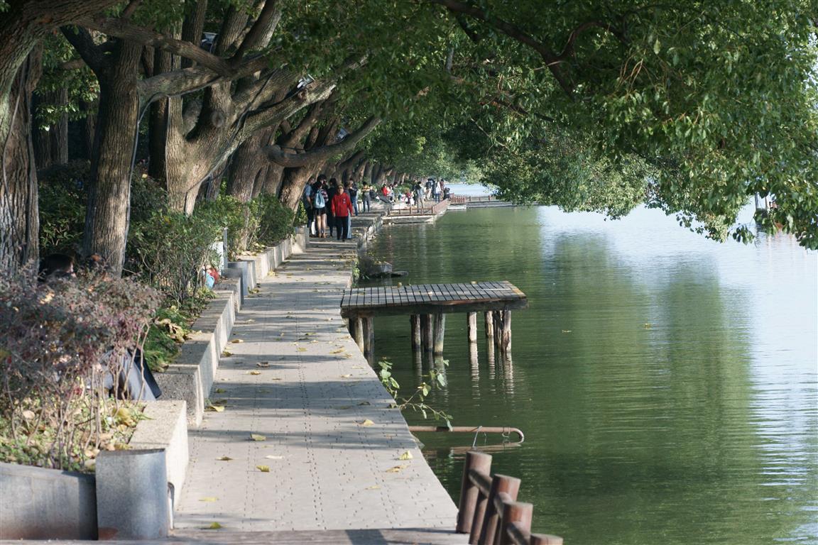 lakeshore, bord du lac, Nanjing
