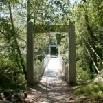 suspension bridge (footpath)