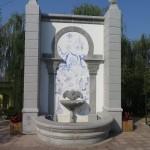 a monumental fountain