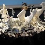 exhibit in the ceramics museum