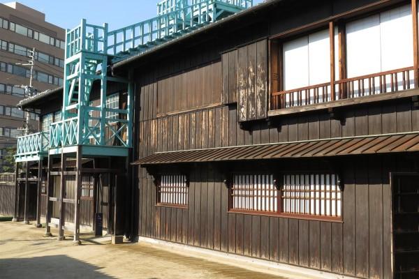 Dejima warehouses