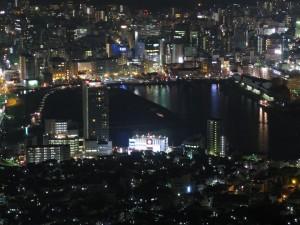Nagasaki, view from Mount Inasa