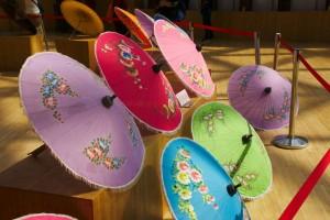 parasols, Qingdao Horticultural Expo