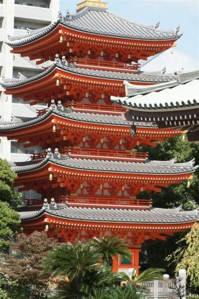 Tochoji temple, Fukuoka