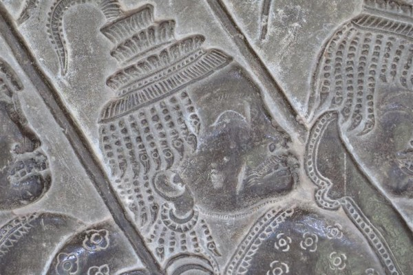 Ankor Wat, Bas reliefs
