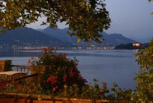 Dusk on Lago Maggiore
