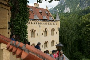 the fairytale castle and the gingerbread house