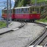 cog railway to the garden