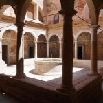 the Escaladei cloister - rebuilt
