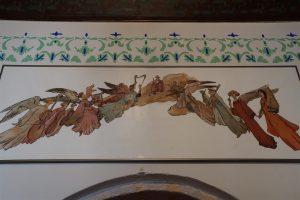 wall frescos