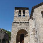 église de Sablières, clocher à peigne