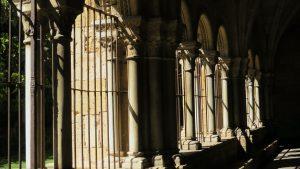 dark shadows in the cloister