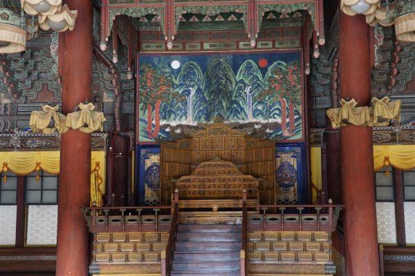 audience chamber, Changdeok-gung palace, Seoul