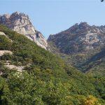 Baegundae peak (upper right)