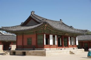 hip roof and flying eaves, Gyeongbokgung