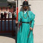 gate guard, Gyeongbokgung, Seoul