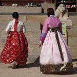 hanbok dress, Gyeongbokgung