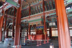 imperial throne room, Gyeongbokgung