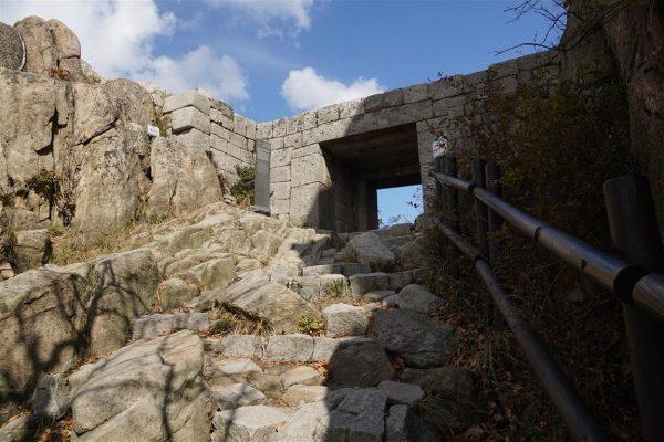 a fortress gate